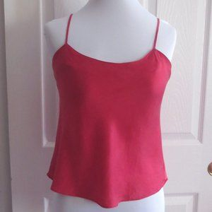 Victoria's Secret Red Silk Camisole